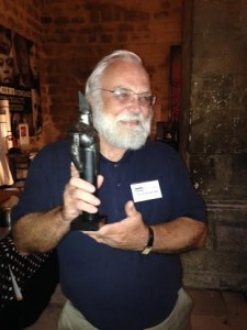 Art accepts Cyrano Award (19Jul14)